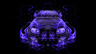 Toyota-Supra-JDM-FrontUp-Violet-Fire-Abstract-Car-2014-HD-Wallpapers-design-by-Tony-Kokhan-[www.el-tony.com]