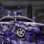Audi S4 Tuning Anime Aerography City Car 2015