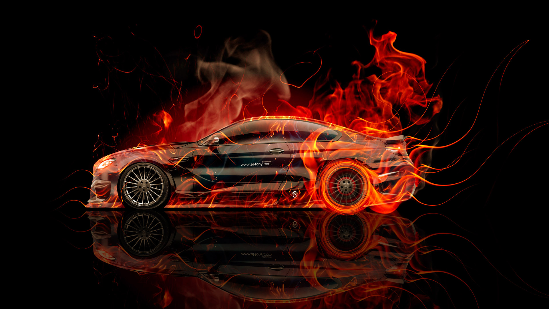 BMW-M6-Hamann-Tuning-Side-Fire-Abstract-Car-2015-HD-Wallpapers-design-by-Tony-Kokhan-[www.el-tony.com]