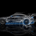 BMW M6 Hamann Tuning Side Water Car 2015