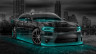Dodge-Charger-RT-Muscle-Crystal-City-Car-2015-Azure-Neon-3D-HD-Wallpapers-design-by-Tony-Kokhan-[www.el-tony.com]