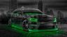 Dodge-Charger-RT-Muscle-Crystal-City-Car-2015-Green-Neon-3D-HD-Wallpapers-design-by-Tony-Kokhan-[www.el-tony.com]