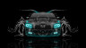 Dodge-Charger-RT-Muscle-Front-Water-Car-2015-Azure-Neon-HD-Wallpapers-design-by-Tony-Kokhan-[www.el-tony.com]