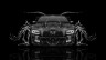 Dodge-Charger-RT-Muscle-Front-Water-Car-2015-Black-White-Colors-HD-Wallpapers-design-by-Tony-Kokhan-[www.el-tony.com]