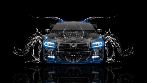 Dodge-Charger-RT-Muscle-Front-Water-Car-2015-Blue-Neon-HD-Wallpapers-design-by-Tony-Kokhan-[www.el-tony.com]