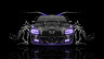 Dodge-Charger-RT-Muscle-Front-Water-Car-2015-Violet-Neon-HD-Wallpapers-design-by-Tony-Kokhan-[www.el-tony.com]