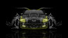 Dodge-Charger-RT-Muscle-Front-Water-Car-2015-Yellow-Neon-HD-Wallpapers-design-by-Tony-Kokhan-[www.el-tony.com]