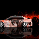 4K Honda Civic JDM Side Anime Aerography Car 2015