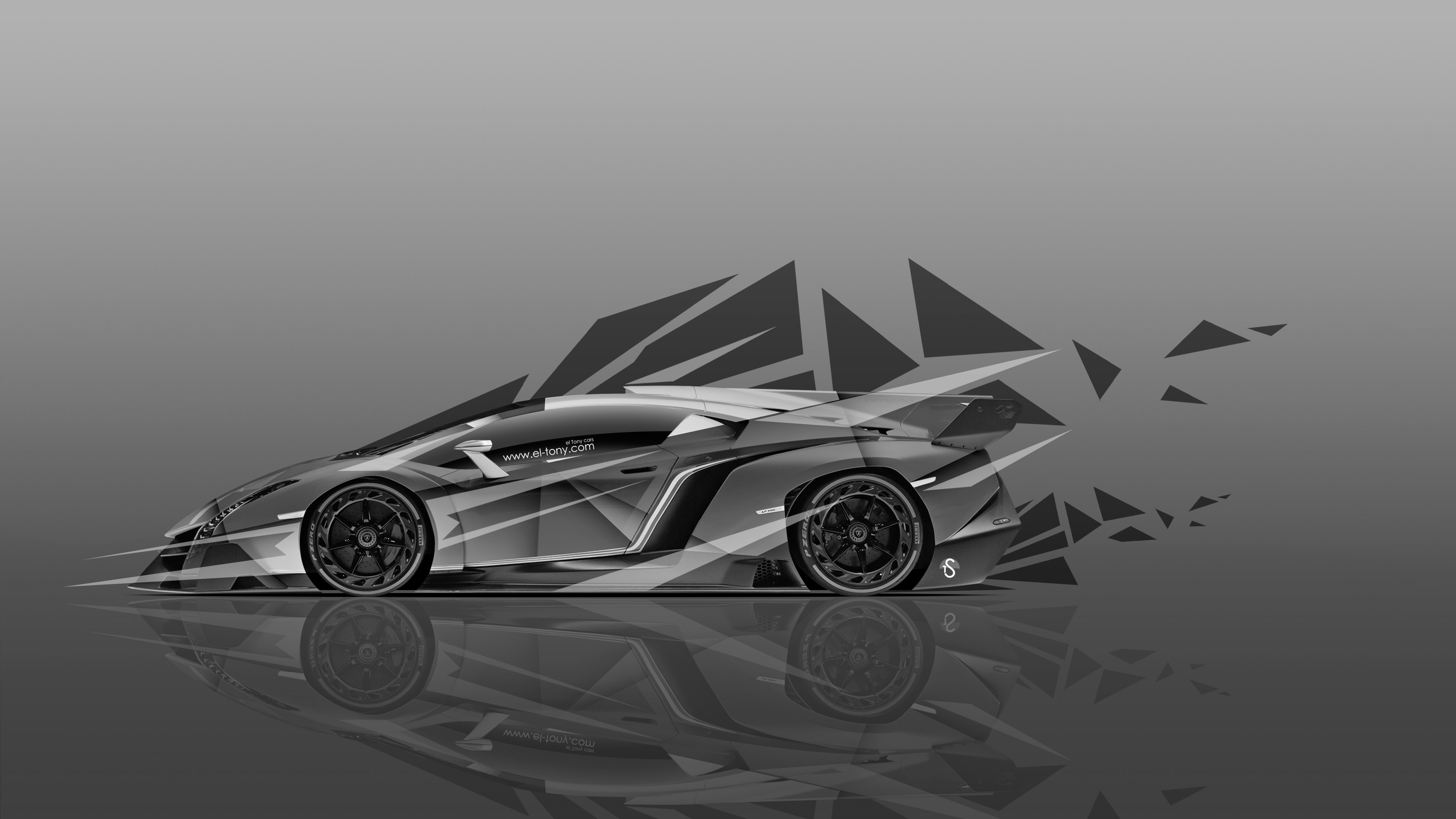 ... Lamborghini Murcielago Up Fire Abstract Car 2013 | El Tony ...