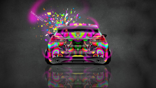 Mazda-6-JDM-Tuning-Back-Domo-Kun-Toy-Car-2015-Multicolors-HD-Wallpapers-design-by-Tony-Kokhan-[www.el-tony.com]