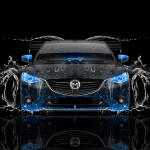 Mazda 6 JDM Tuning Front Water Car 2015