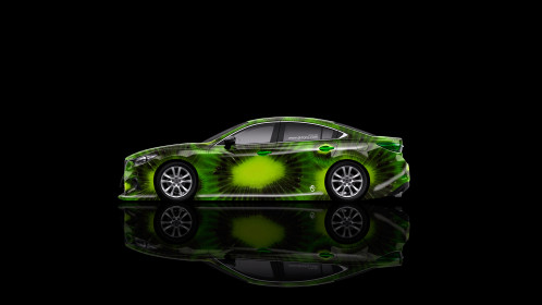 Mazda-6-JDM-Tuning-Side-Kiwi-Aerography-Car-2015-Green-Colors-4K-Wallpapers-design-by-Tony-Kokhan-[www.el-tony.com]