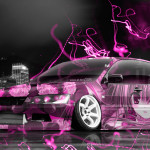 Mitsubishi Lancer Evolution JDM Tuning Anime City Car 2015