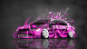 Mitsubishi-Lancer-Evolution-JDM-Tuning-Domo-Kun-Toy-Car-2015-Pink-Colors-3D-HD-Wallpapers-design-by-Tony-Kokhan-[www.el-tony.com]