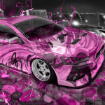 Mitsubishi Lancer Evolution X JDM Anime Aerography City Car 2015