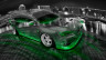 Mitsubishi-Lancer-Evolution-X-JDM-Tuning-Crystal-City-Car-2015-Fish-Eye-View-Green-Neon-HD-Wallpapers-design-by-Tony-Kokhan-[www.el-tony.com]