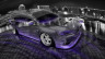 Mitsubishi-Lancer-Evolution-X-JDM-Tuning-Crystal-City-Car-2015-Fish-Eye-View-Violet-Neon-HD-Wallpapers-design-by-Tony-Kokhan-[www.el-tony.com]