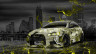 Mitsubishi-Lancer-Evolution-X-Tuning-JDM-Anime-Girl-Aerography-City-Car-2015-Yellow-Neon-Effects-HD-Wallpapers-design-by-Tony-Kokhan-[www.el-tony.com]