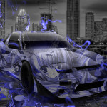 Nissan 180SX JDM Tuning Anime Aerography City Car 2014