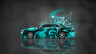 Nissan-Cedric-JDM-Tuning-Side-Domo-Kun-Toy-Car-2015-Art-Azure-Colors-HD-Wallpapers-design-by-Tony-Kokhan-[www.el-tony.com]