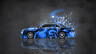 Nissan-Cedric-JDM-Tuning-Side-Domo-Kun-Toy-Car-2015-Art-Blue-Colors-HD-Wallpapers-design-by-Tony-Kokhan-[www.el-tony.com]