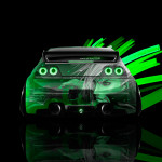 4K Nissan Skyline GTR R33 JDM Back Anime Aerography Car 2015