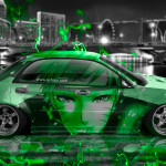 Subaru Impreza WRX STI JDM Tuning Anime Boy City Car 2015