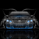 Toyota Camry JDM Tuning Front Water Car 2015