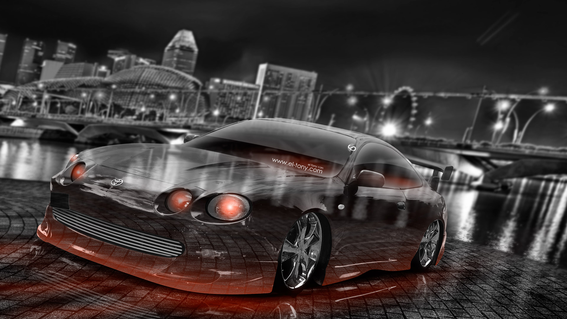 Attractive ... Toyota Celica JDM Tuning Crystal City Car 2015  ... Design Ideas