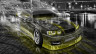 Toyota-Chaser-JZX100-JDM-Tuning-Crystal-City-Smoke-Drift-Car-2014-Art-Yellow-Neon-HD-Wallpapers-design-by-Tony-Kokhan-[www.el-tony.com]