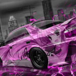 Toyota Chaser JZX100 JDM Anime Aerography City Car 2015