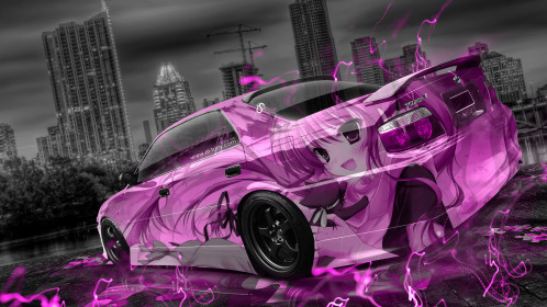 Toyota-Chaser-JZX100-TourerV-JDM-Tuning-Anime-Girl-Aerography-City-Car-2015-Pink-Neon-Effects-3D-HD-Wallpapers-design-by-Tony-Kokhan-[www.el-tony.com]