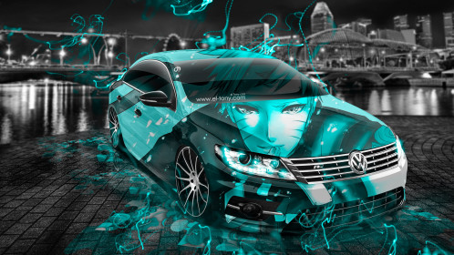 Volkswagen-Passat-CC-Tuning-Anime-Boy-Aerography-City-Car-2015-Art-Azure-Neon-Effects-HD-Wallpapers-design-by-Tony-Kokhan-[www.el-tony.com]