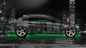 BMW-E90-Side-Crystal-City-Car-2015-Green-Neon-4K-Wallpapers-design-by-Tony-Kokhan-www.el-tony.com-image