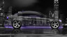 BMW-E90-Side-Crystal-City-Car-2015-Violet-Neon-4K-Wallpapers-design-by-Tony-Kokhan-www.el-tony.com-image