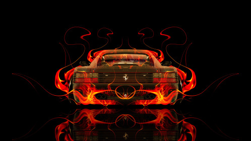 Ferrari-512-TR-Back-Fire-Abstract-Car-2015-HD-Wallpapers-design-by-Tony-Kokhan-[www.el-tony.com]