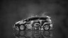 Honda-Fit-JDM-Tuning-Side-Abstract-Aerography-Car-2015-Black-White-Colors-HD-Wallpapers-design-by-Tony-Kokhan-[www.el-tony.com]