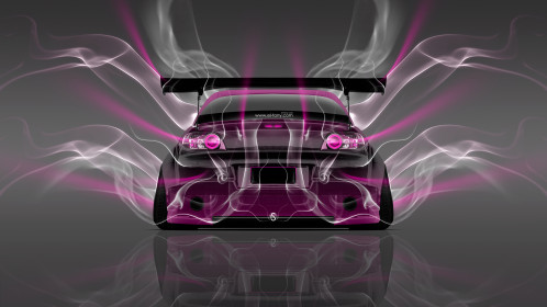 Mazda-RX8-JDM-Tuning-Back-Smoke-Car-2015-Pink-Neon-4K-Wallpapers-design-by-Tony-Kokhan-[www.el-tony.com]