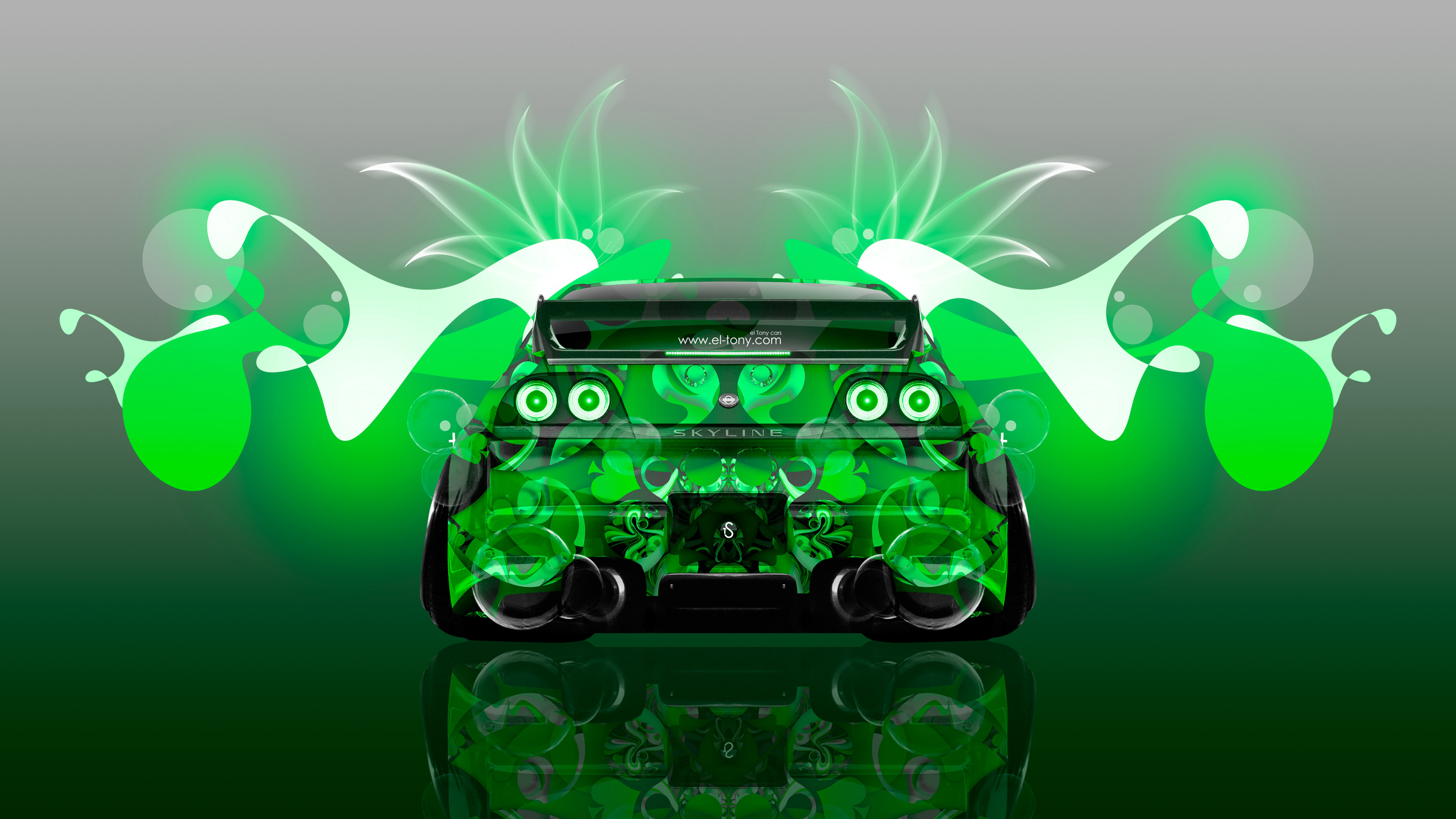 ... Nissan Skyline GTR R33 JDM Back Super Abstract  ...