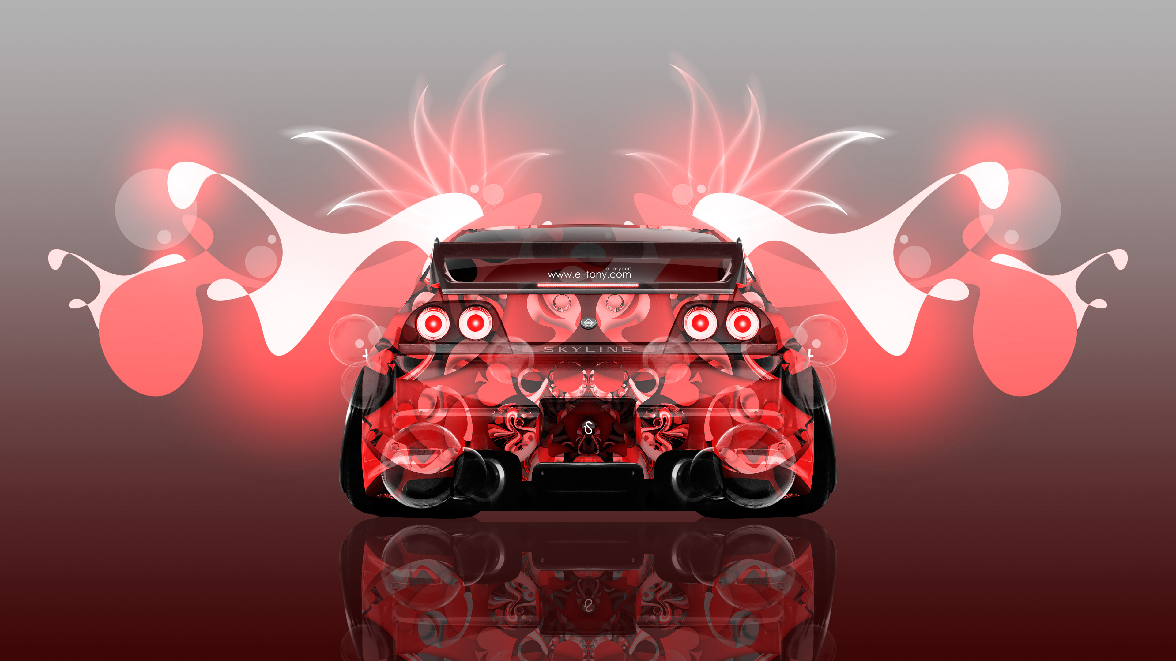 4K Nissan Skyline GTR R33 JDM Super Abstract Aerography ...