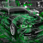 Toyota Chaser JZX100 JDM Tuning Dragon Aerography City Car 2015