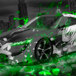 Ordinaire Toyota FT HS Hybrid Concept Anime Boy Aerography City Car 2015