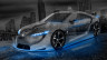 Toyota-FT-HS-Hybrid-Concept-3D-Crystal-City-Car-2015-Art-Blue-Neon-HD-Wallpapers-design-by-Tony-Kokhan-[www.el-tony.com]