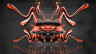 Toyota-Mark-X-350S-JDM-Front-Super-Plastic-Abstract-Aerography-Fly-Car-2015-Orange-Colors-HD-Wallpapers-design-by-Tony-Kokhan-[www.el-tony.com]