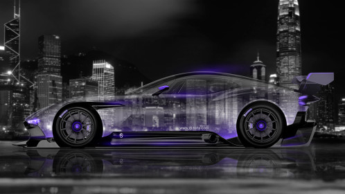Aston-Martin-Vulcan-Side-Crystal-City-Car-2015-Violet-Neon-4K-Wallpapers-design-by-Tony-Kokhan-www.el-tony.com-image