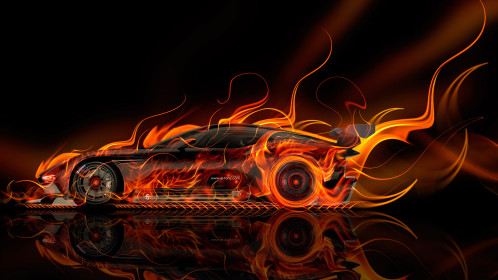 Aston-Martin-Vulcan-Side-Super-Fire-Abstract-Car-2015-Art-Style-Orange-Yellow-Colors-HD-Wallpapers-design-by-Tony-Kokhan-www.el-tony.com-image