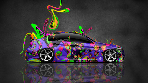 BMW-E90-Side-Super-Abstract-Plastic-Aerography-Car-2015-Multicolors-HD-Wallpapers-design-by-Tony-Kokhan-www.el-tony.com-image