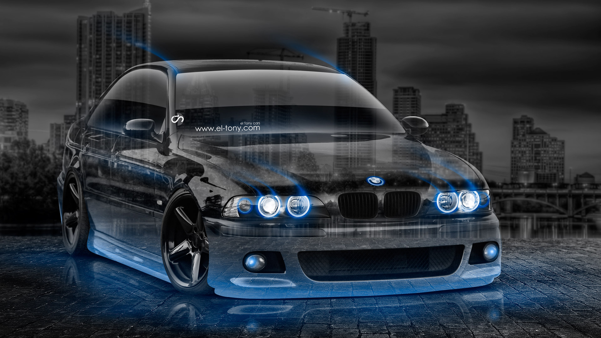 Bmw M5 Tuning Crystal City Car 2015 El Tony
