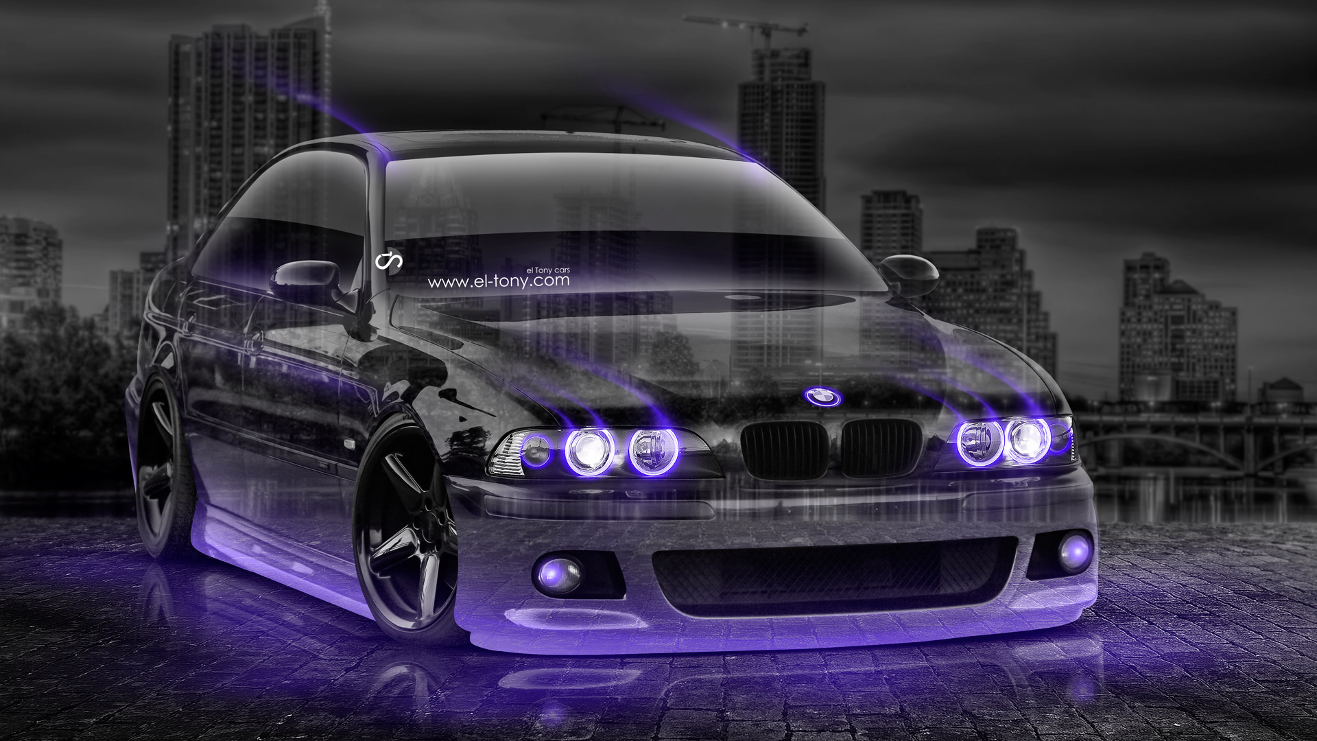 Exceptionnel BMW M5 Tuning 3D Crystal City Car 2015