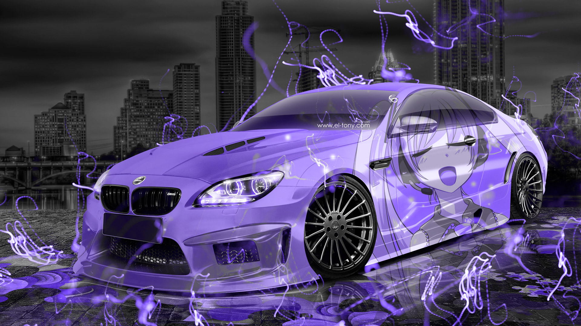 Cool Wallpaper Music Violet - BMW-M6-Hamann-Tuning-3D-Anime-Girl-Music-Aerography-Car-2015-Art-Violet-Neon-Effects-HD-Wallpapers-design-by-Tony-Kokhan-www  Trends_15814.jpg